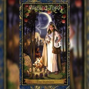 """Wizard Tarot """"Der Narr/Initiate"""""""