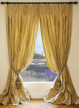 silk drapes and curtains silk drapery