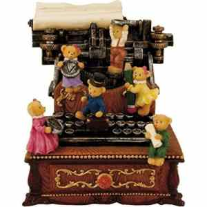 Gifts for Writers - Bears Music Box