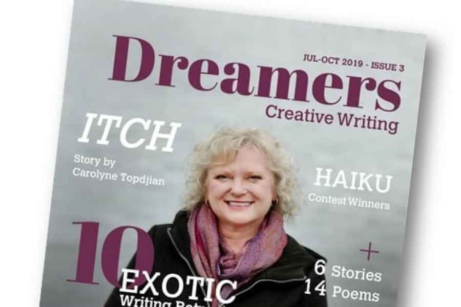 Extra! Extra! Dreamers Magazine Issue 3 is Here!