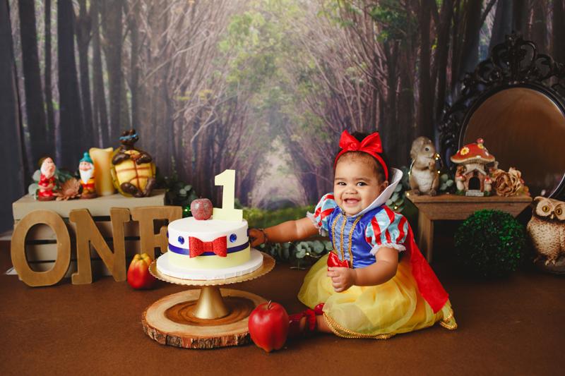 Snow White Valentine S Cake Smash Dallas Texas Dream Focus Studio Dallas Texas