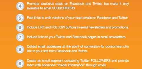 facebook twitter email integrated
