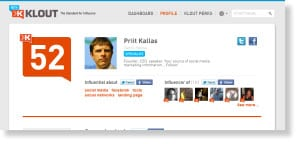 klout Free Social Media Monitoring Tools