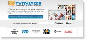 twitalyzer Free Social Media Monitoring Tools
