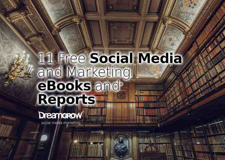 free social media and marketing ebooks and reports
