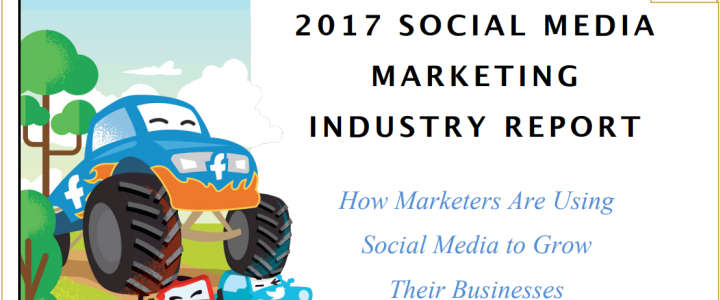 social media marketing industry report 2017