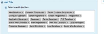 linked in ads segmenting