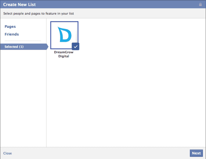 facebook interests list