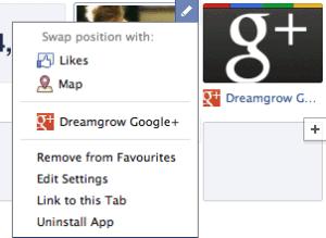 rearrange facebook timeline application