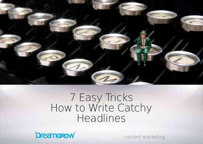 tips write catchy headlines