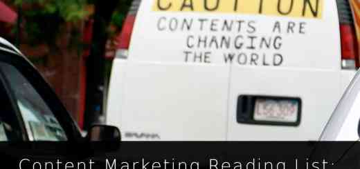 Content Marketing Reading List: Promotion, Strategy, Tools