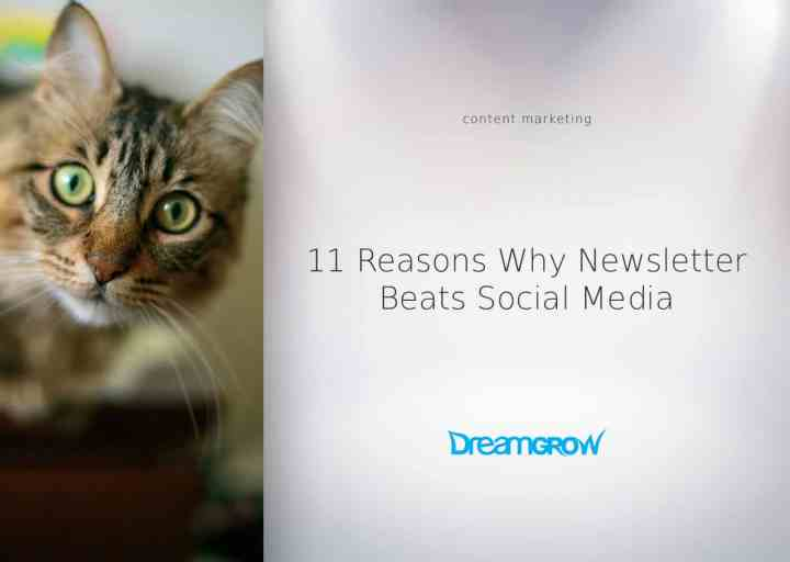 newsletter beats social media