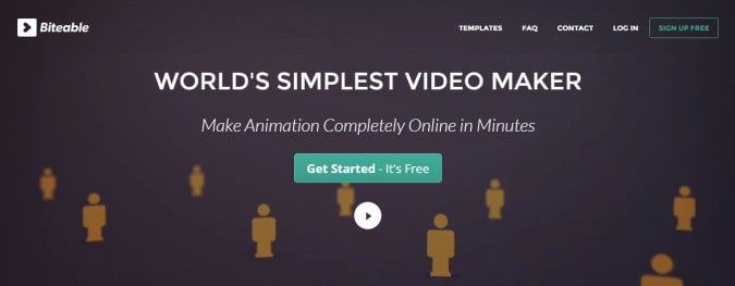 biteable video content marketing