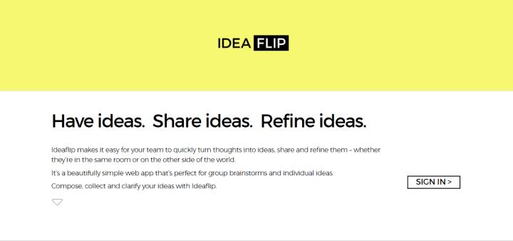 ideaflip tool