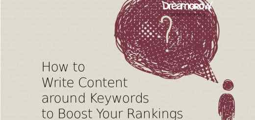 write content around keywords
