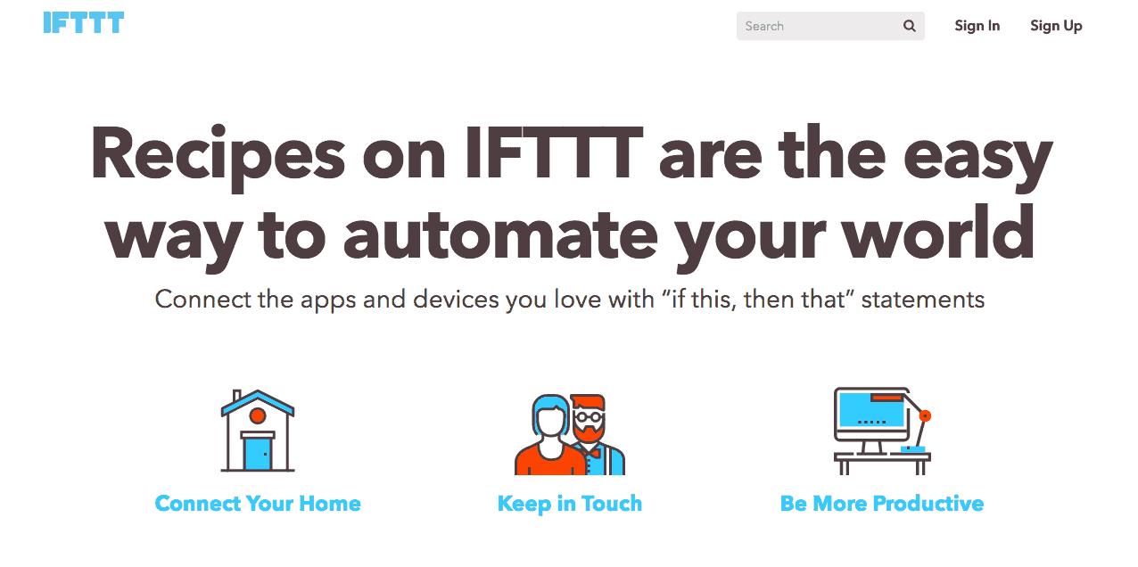 ifttt-productivity-app