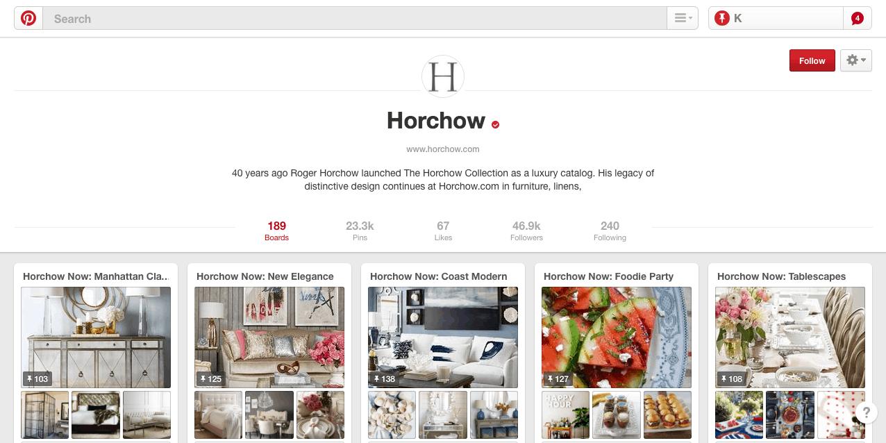 horchow-pinterest-marketing