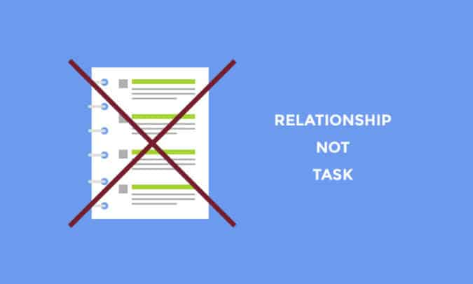 relationship-not-task