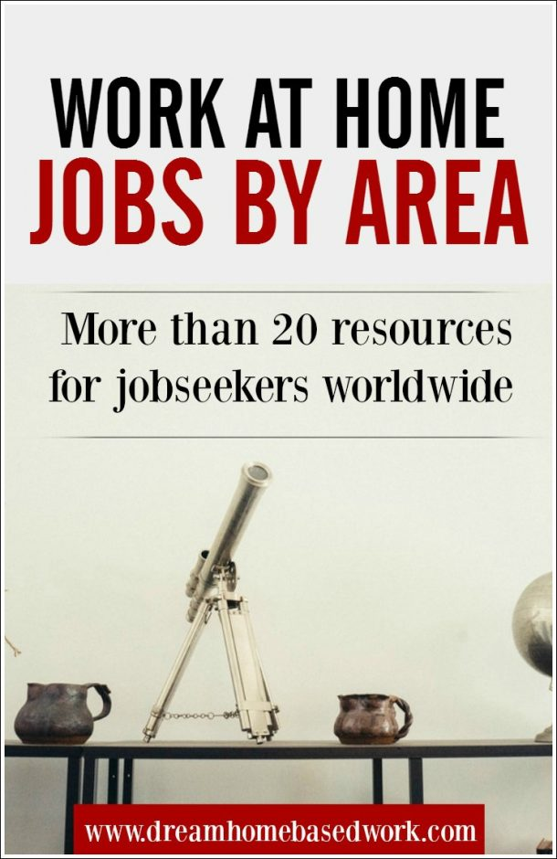 20 Places To Find Location-Based Work at Home Jobs