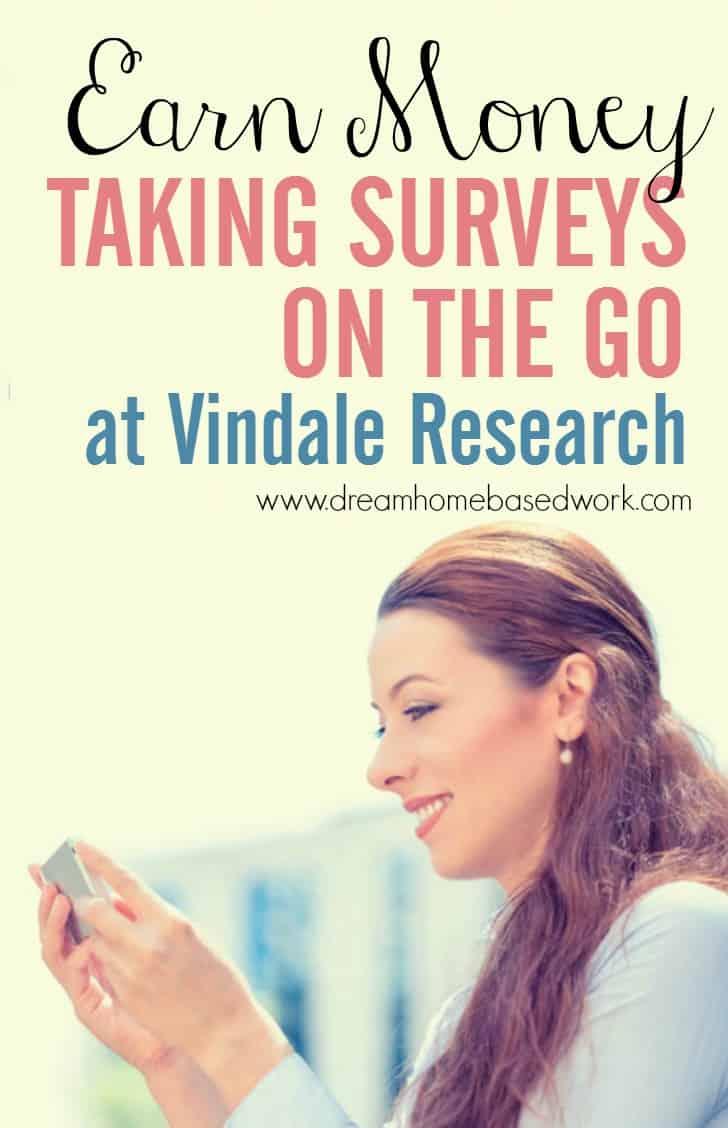 Vindale Research Earn Money Taking Online Surveys