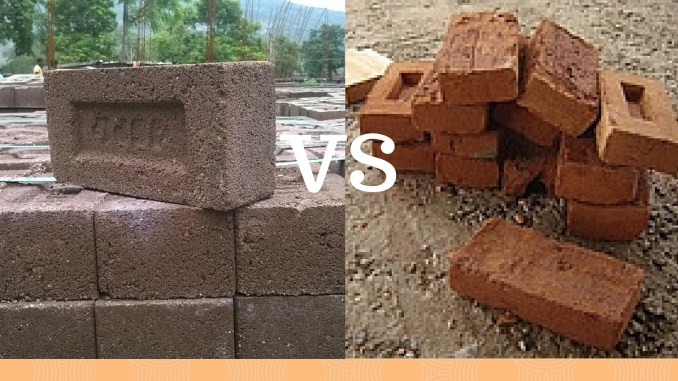 Fly ash brick vs Clay brick