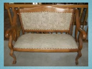 Wooden antique furniture