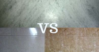 Which is best Marble flooring or Tile flooring?