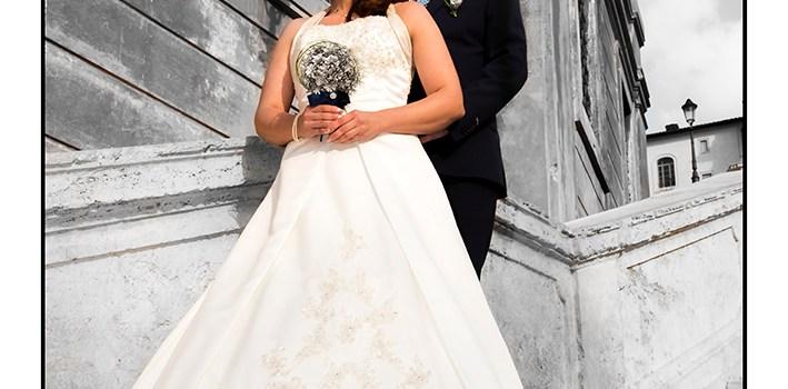 Wedding portrait photo by Morgan Capasso