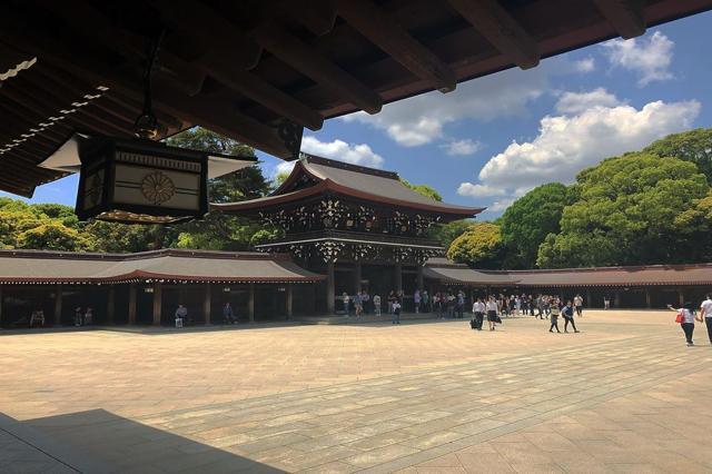 Meiji-jingu: il tempio nella foresta incantata