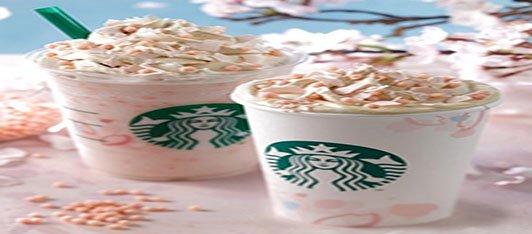 Starbucks lancia la nuova linea Sakura