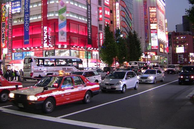 Obbligatorio un bollino sulle auto dei turisti stranieri che visitano il Giappone