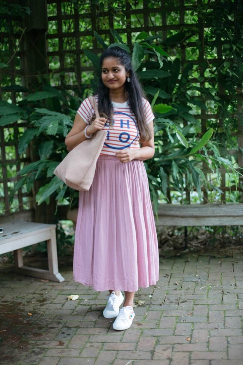 gap-pleated-skirt-princess-pink