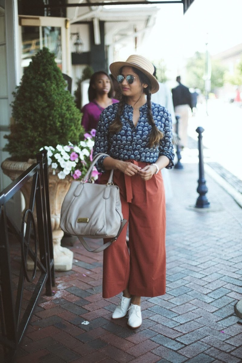 Lifestyle Blogger Surekha of Dreaming Loud Wearing Marc by Marc Jacobs New Q Fran Shoulder Bag