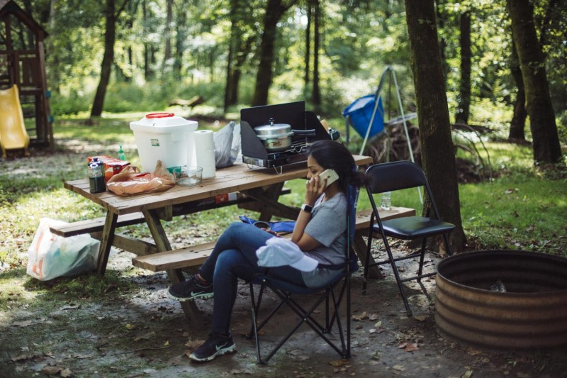 Lifestyle blogger Surekha of Dreaming Loud sharing fall camping checklist4