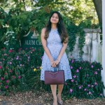 Lifestyle blogger Surekha of dreaming loud wearing Soprano Popover Lace Dress
