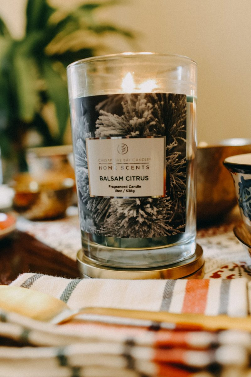 Chesapeake Bay Candles Home collection Balsam Citrus Scent
