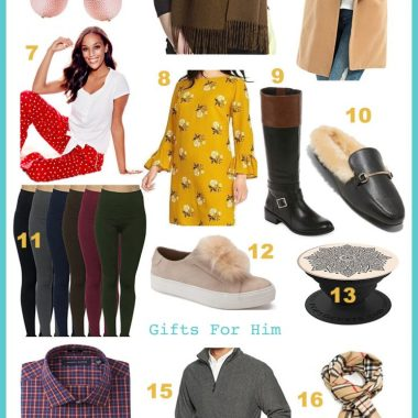 Life Style Blog Dreaming Loud Sharing Secret Santa Gift Guide or Ideas Under $25 2017