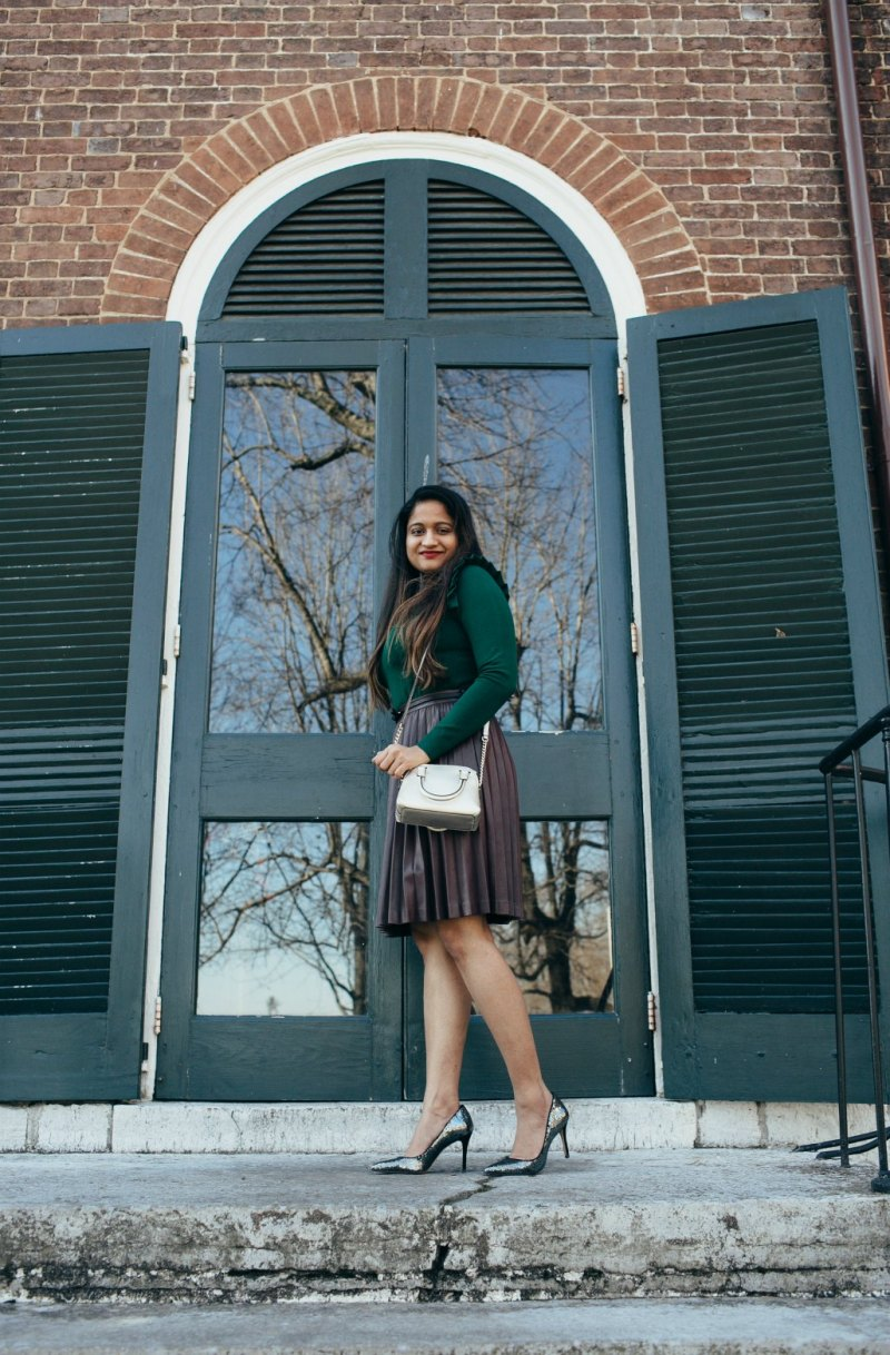 Lifestyle Blog Dreaming Loud Wearing Ann Taylor Mila Sequin pumps