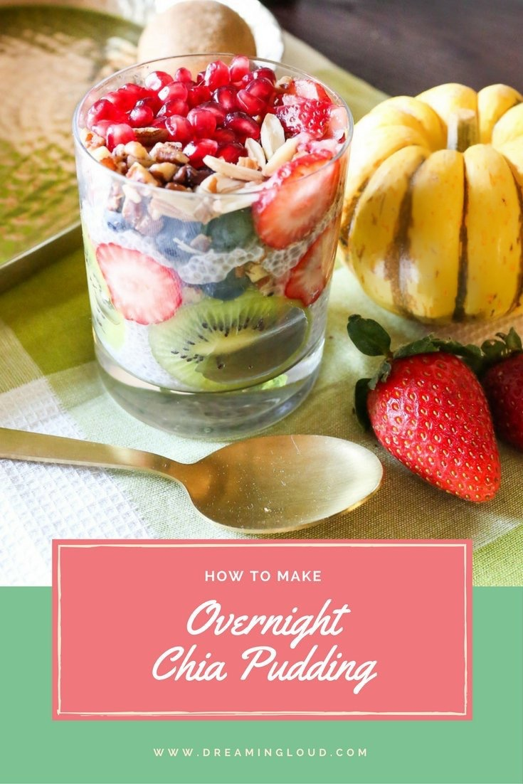 Lifestyle Blogger Surekha of Dreaming Loud Sharing High Protein Breakfast Chia Pudding Recipe1
