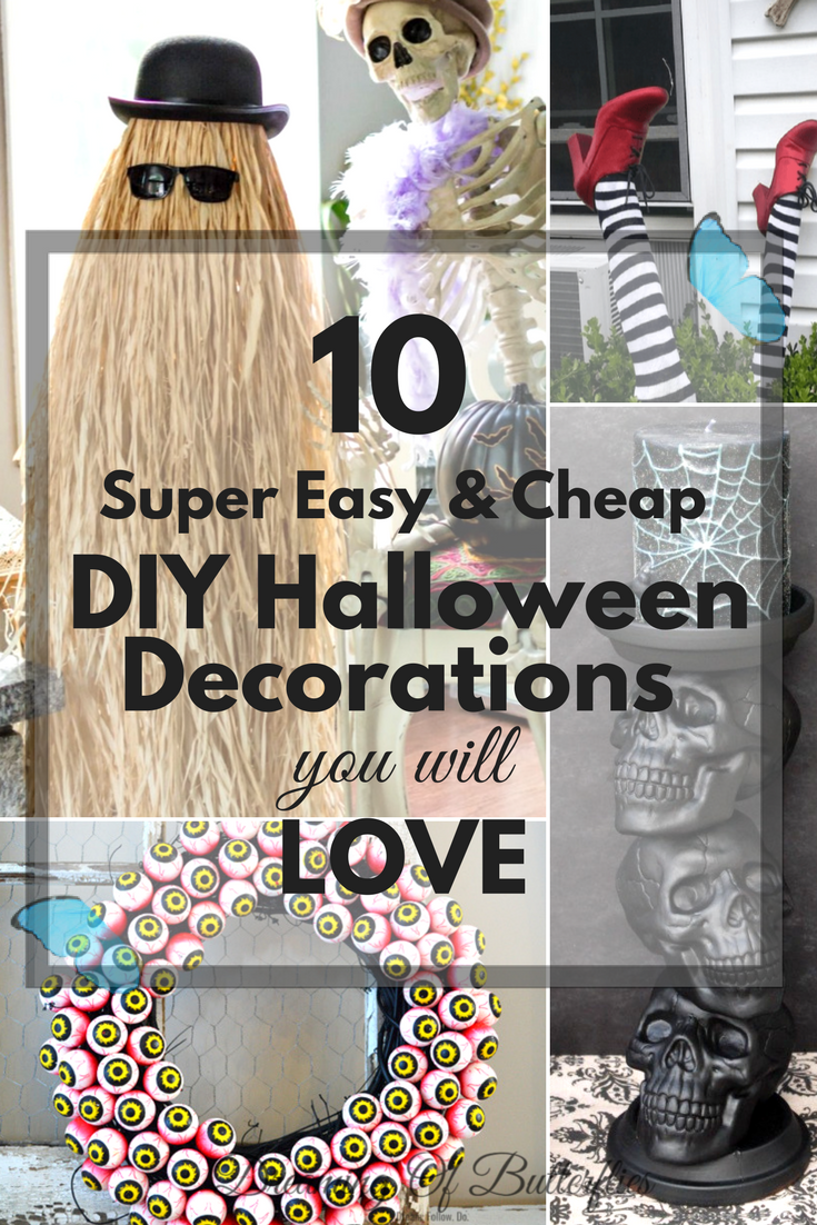 easy cheap halloween decorations to make 10 super easy u0026 cheap diy halloween decorations you will love