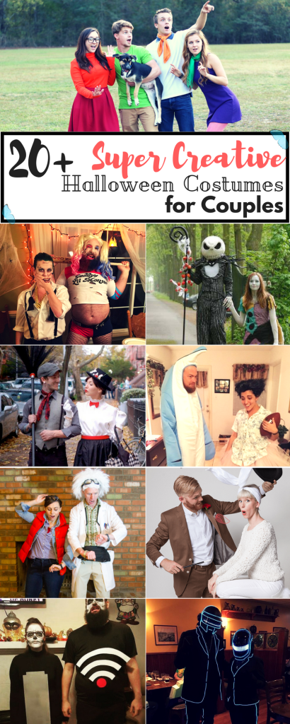 Imagination and Halloween make a great couple! Speaking of couples, here are 20+ of the most creative Halloween costumes for couples found out there.
