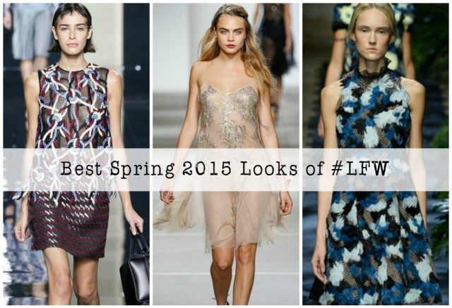 Best Spring 2015 RTW Looks of London Fashion Week