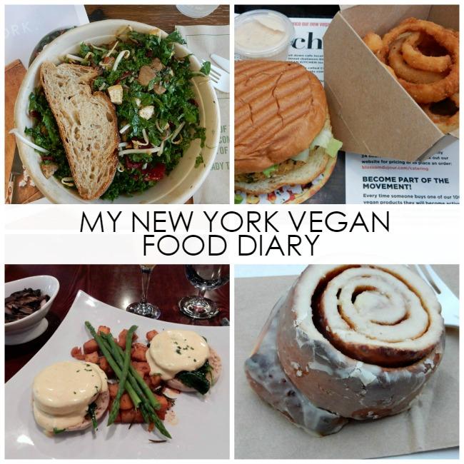 My New York City Vegan Food Diary - Dream in Lace