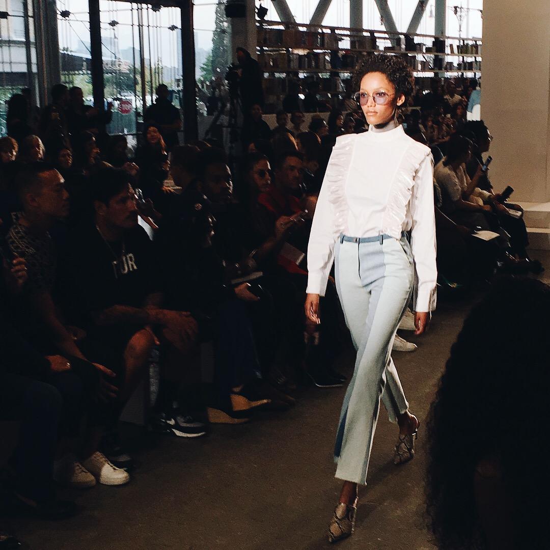 New York Fashion Week Diary : Calvin Luo Runway