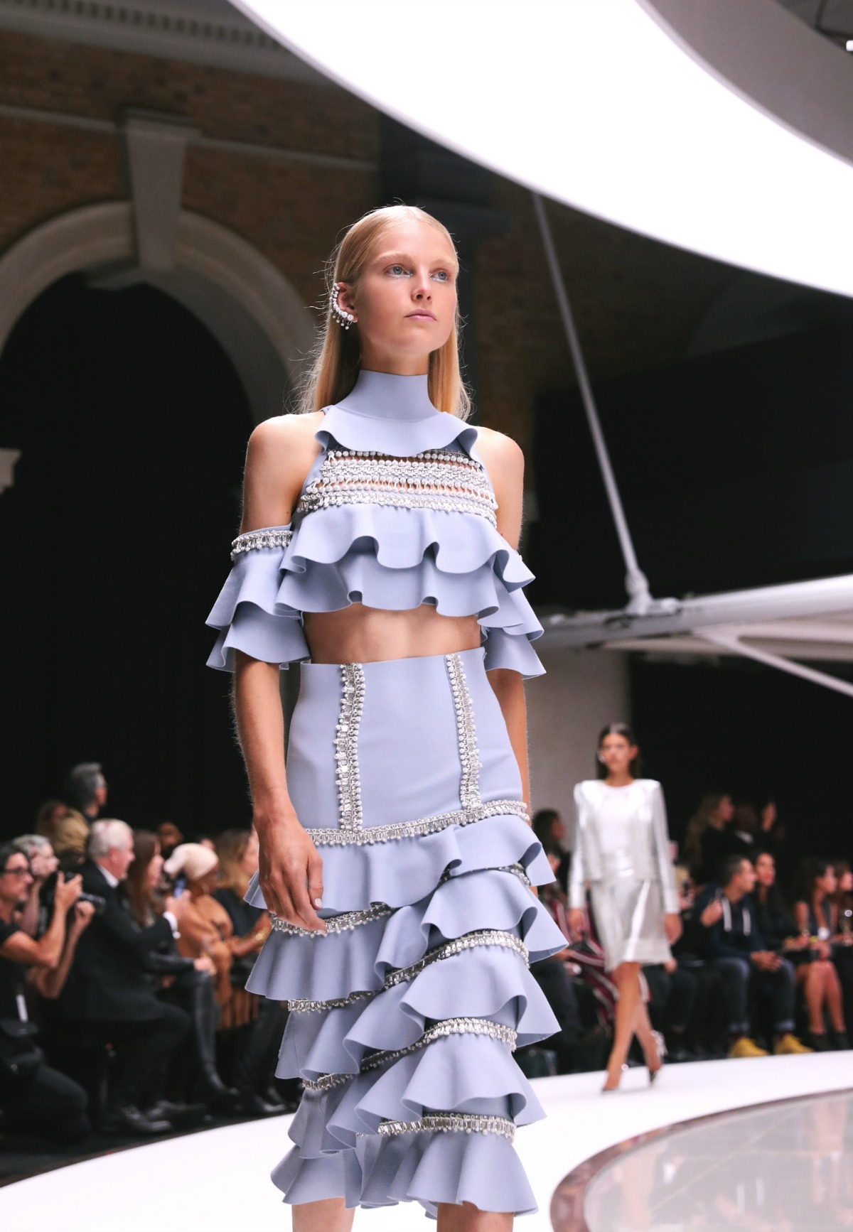 Ralph and Russo Spring 2018 Ready-to-Wear collection at London Fashion Week I DreaminLace.com