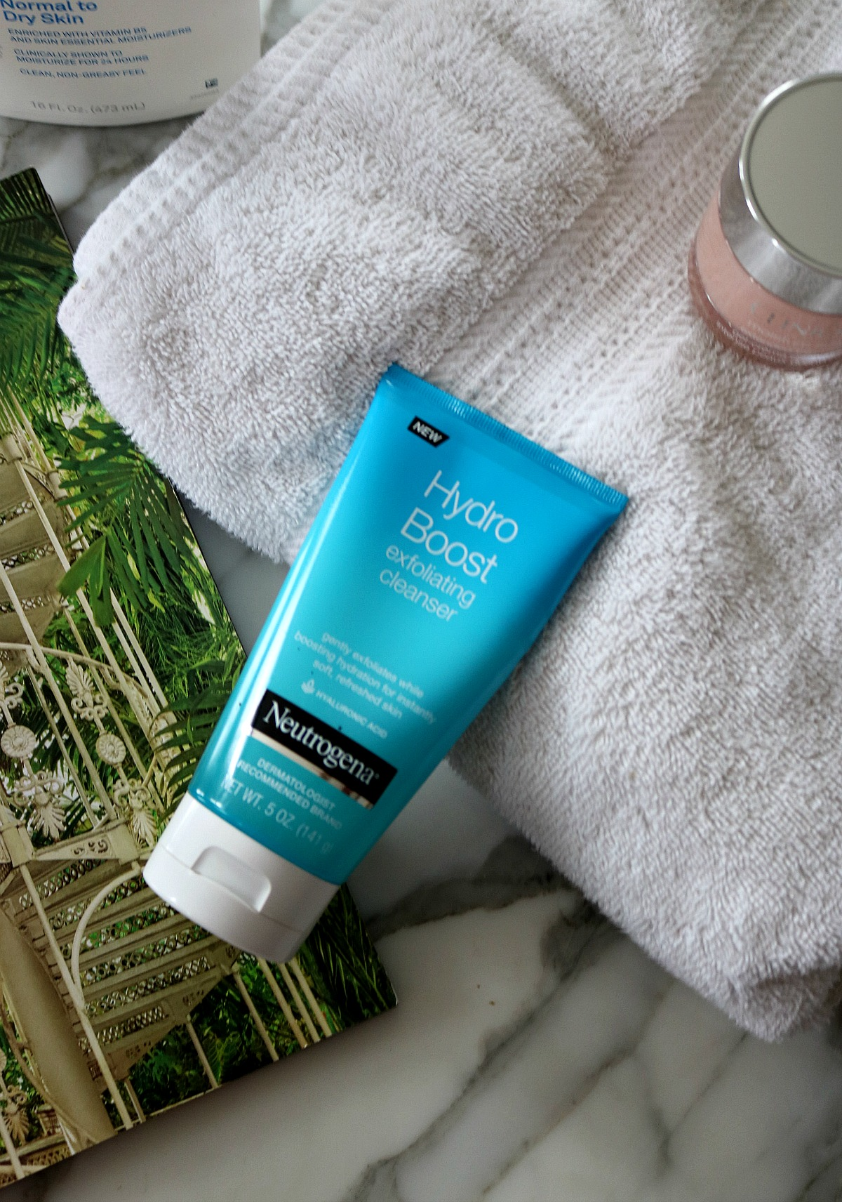 Most Popular Blog Posts of 2018 I Neutrogena Hydro Boost Exfoliating Cleanser Review I DreaminLace.com