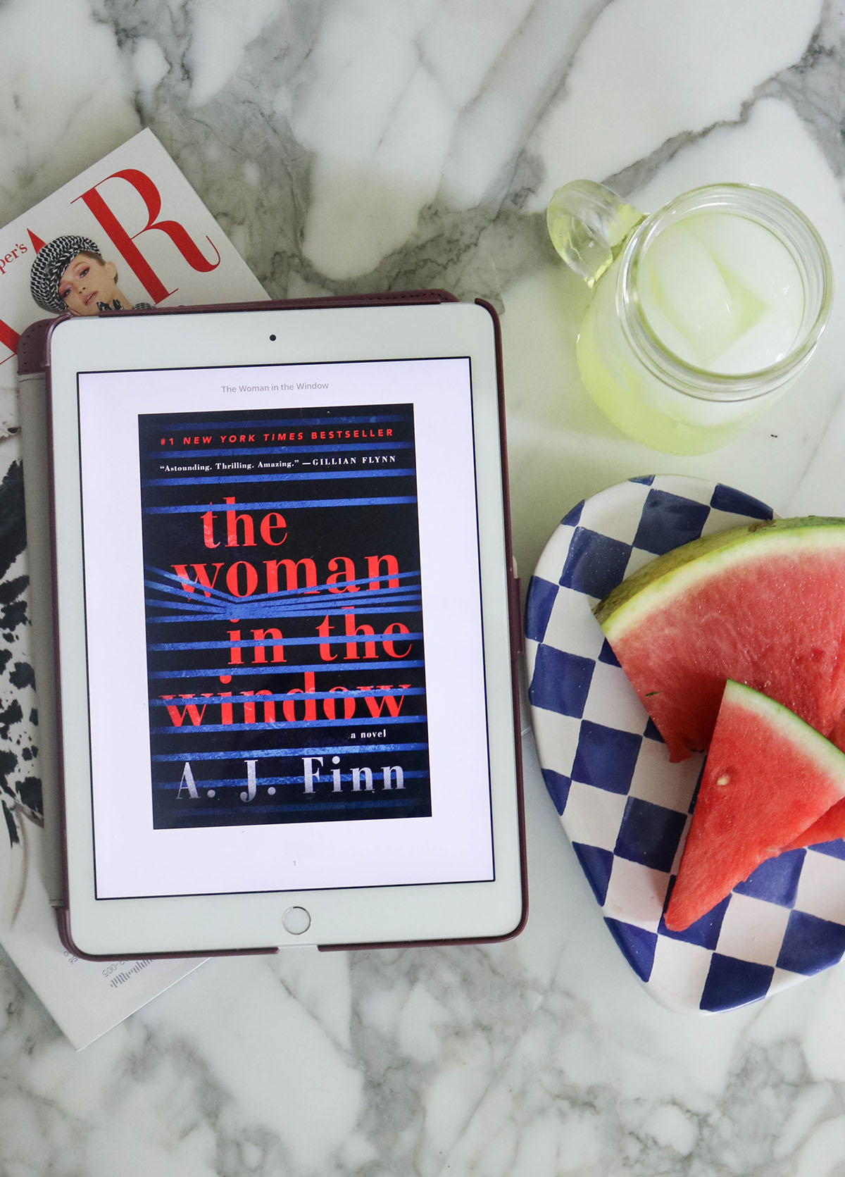 Page-Turner Summer Read I The Woman in the Window by A.J. Finn