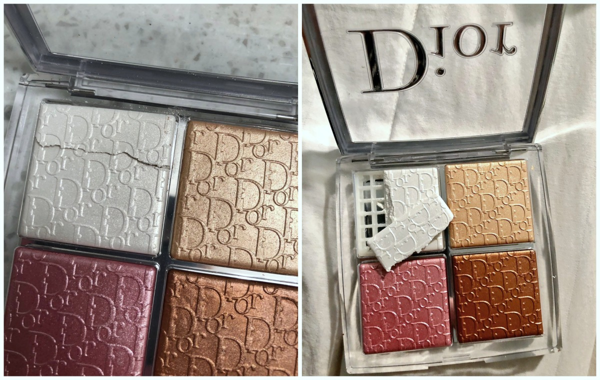 Dior Backstage Collection Glow Face Palette Broken from Sephora I DreaminLace.com