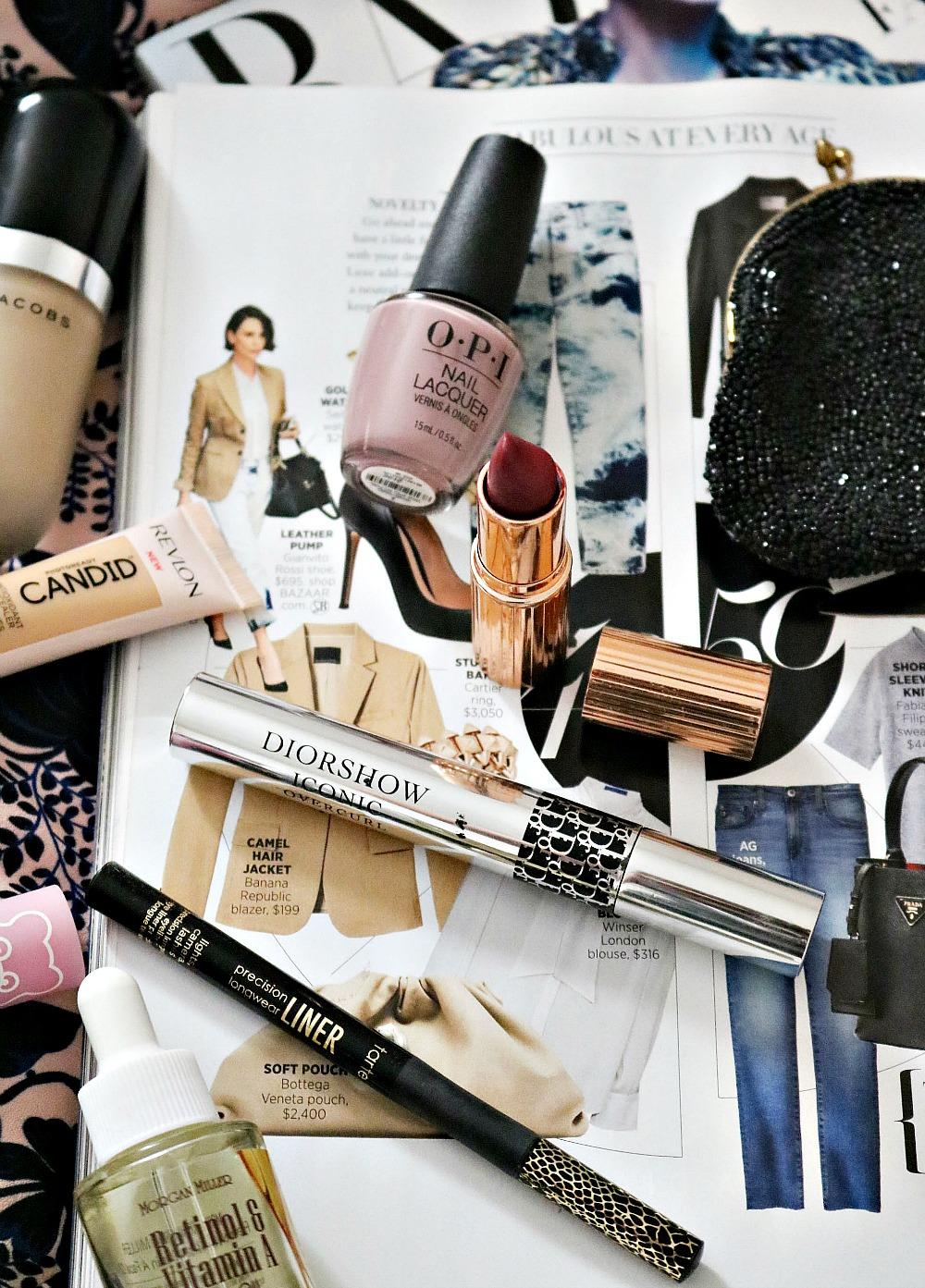 Early Fall Beauty Favorites I Marc Jacobs Beauty, Charlotte Tilbury Lipstick and Dior Mascara #Makeup #Makeupblog #beautyblog #makeuplove