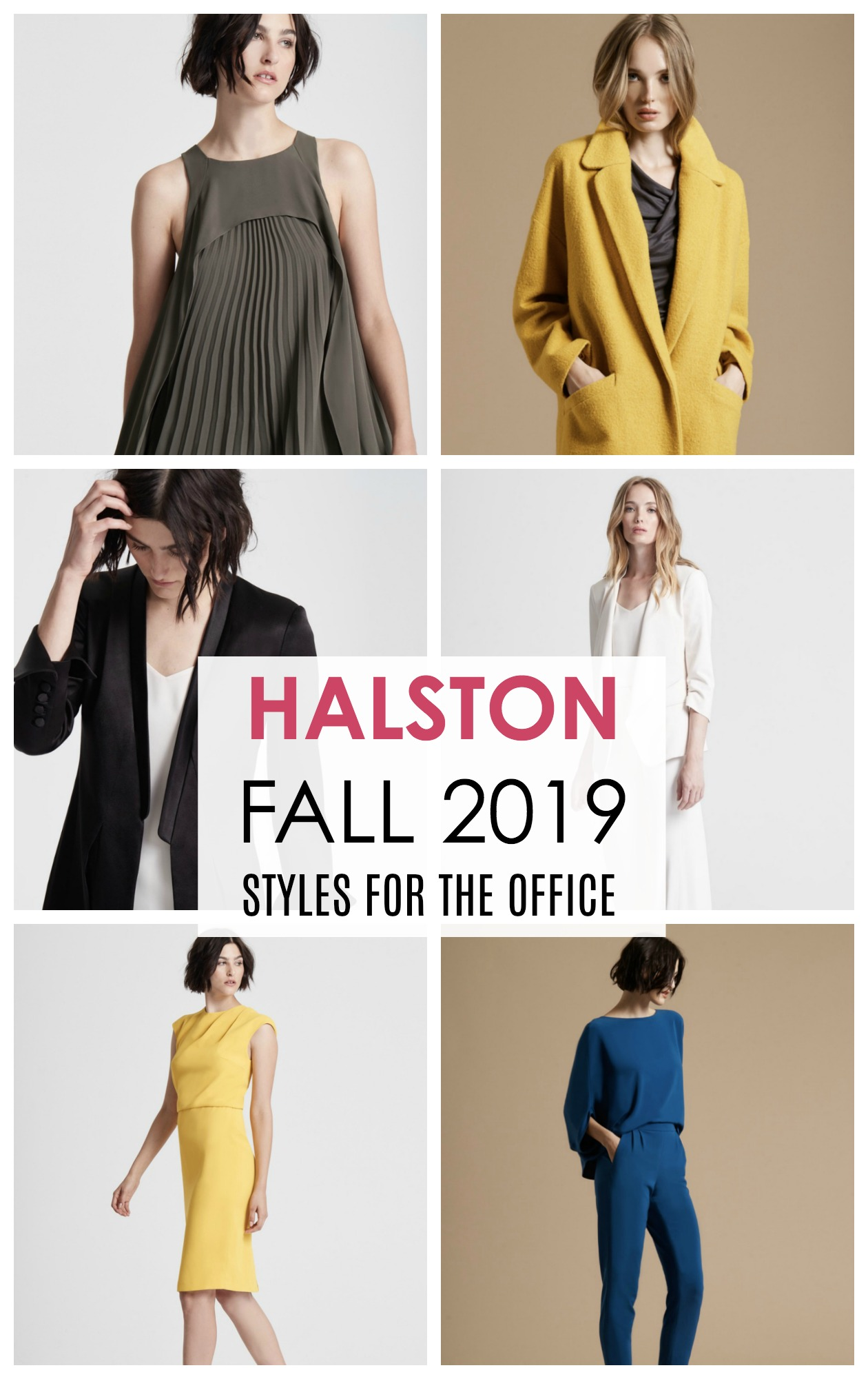 Halston Fall Collection I Styles to Wear to Work #Halston #fallfashion #styleinspo #styleblogger #fashionblogger #fashionblog